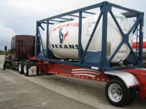 TEXANS ISO Tank