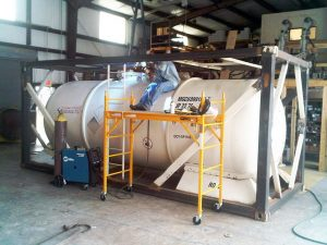 iso tank refurbishment